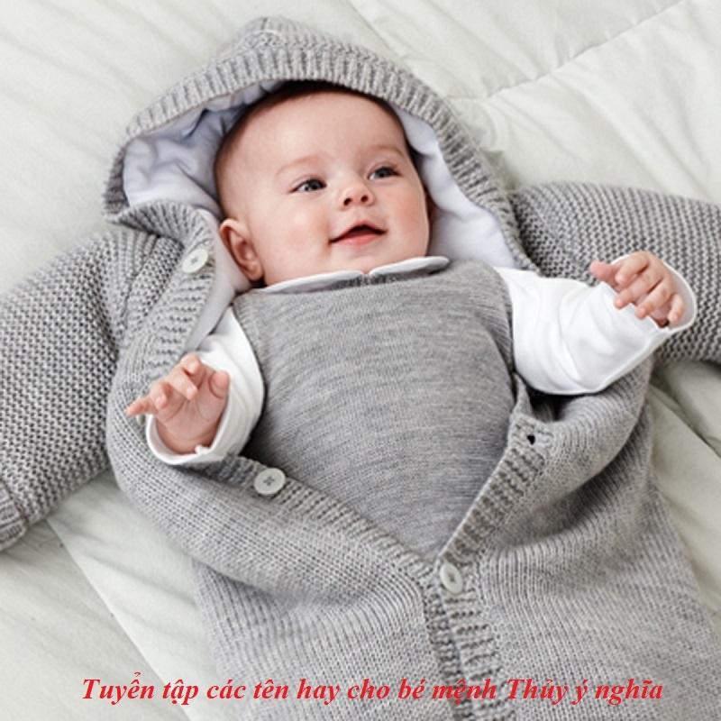 Tên hay cho bé mệnh Thủy
