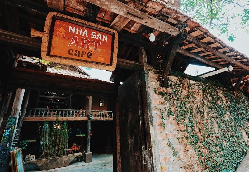 Đặt tên hay cho quán cafe, đặt tên cho quán cafe theo concept, Nhà Sàn Cafe