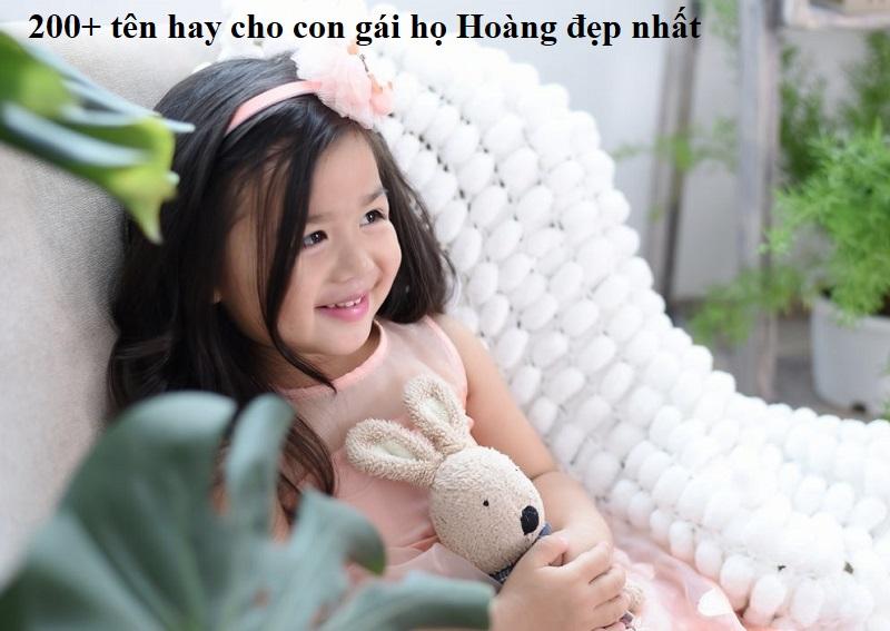 Đặt tên hay cho con gái họ Hoàng độc đáo & ý nghĩa nhất