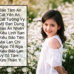 Bật mí 100 tên 4 chữ cho bé gái họ Trần dễ thương, lanh lợi