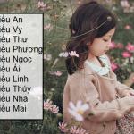 Độc đáo cách đặt tên con gái lót chữ Tiểu siêu lạ và đáng yêu