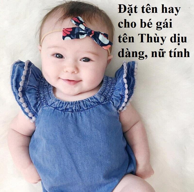 Tên hay cho bé gái là Thùy