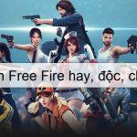 Độc đáo cách đặt tên free fire hay, đẹp, ngầu ai cũng trầm trồ