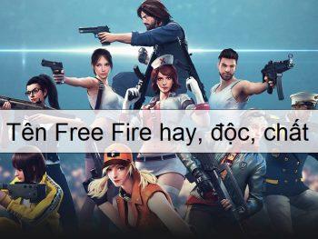 Tên free fire hay, tên free fire đẹp, tên ff hay, tên ff đẹp