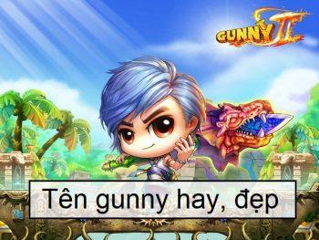 Tên gunny hay, tên gunny đẹp, tên đẹp cho gunny