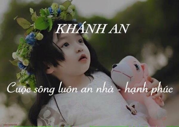 Ý nghĩa tên Khánh An, tên Khánh An có ý nghĩa gì?