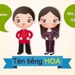 List tên tiếng Hoa hay & cách dịch tên tiếng Hoa chuẩn chỉnh