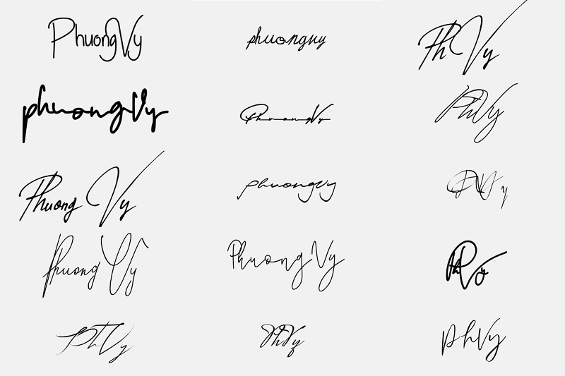 Chữ ký đẹp cho tên Phương Vy. Tên Phương Vy có ý nghĩa gì, đẹp hay xấu?