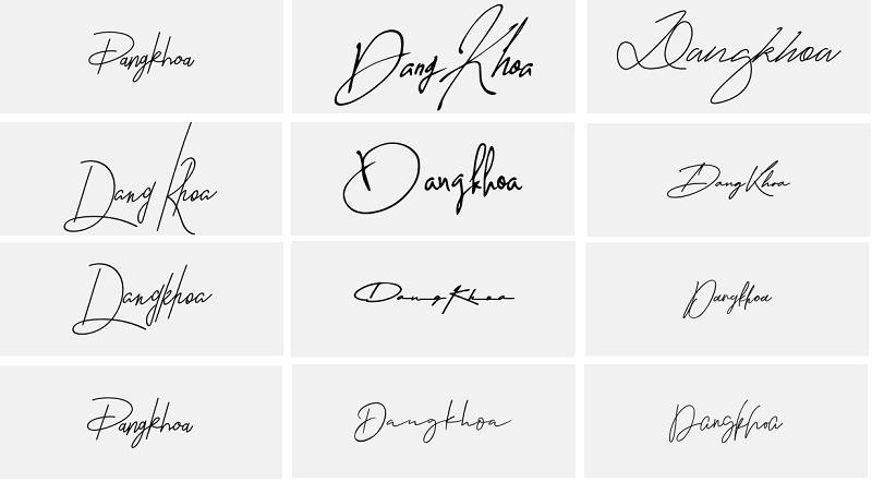 Ý nghĩa tên Đăng Khoa, mẫu chữ ký tên Đăng Khoa