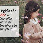 Ý nghĩa tên San & gợi ý các tên đệm cho tên San hay miễn chê