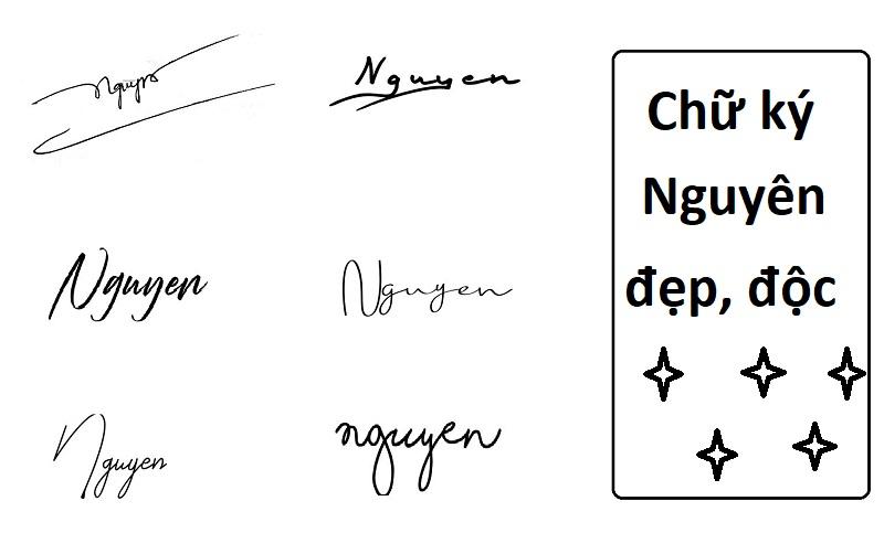 Gợi ý mẫu chữ ký đẹp cho tên Thảo Nguyên