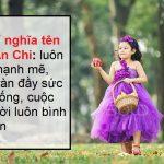 Bật mí ý nghĩa tên An Chi đảm bảo đọc xong ưng liền luôn nhé!