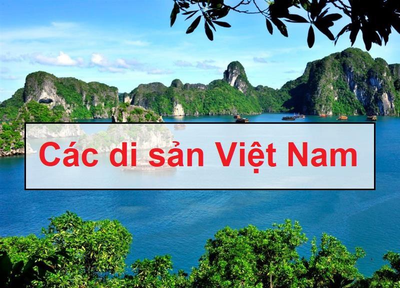 Tên các di sản Việt Nam